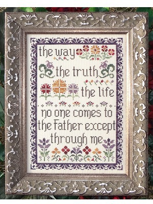 My Big Toe Designs - The Way, The Truth, The Life - Cross Stitch Pattern