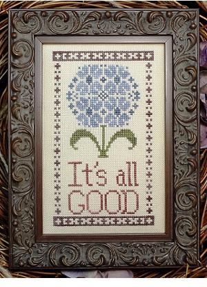 My Big Toe Designs - It's All Good - Cross Stitch Pattern