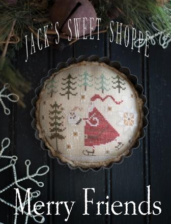 Plum Street Samplers - Jack's Sweet Shoppe - Merry Friends-Plum Street Samplers - Jacks Sweet Shoppe - Merry Friends, Chris