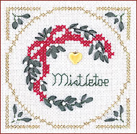 Victoria Sampler - Mistletoe - Beyond Cross Stitch Level 2 - Stem Stitch