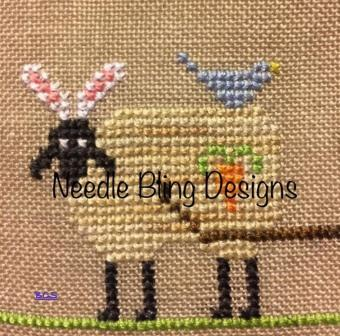 Needle Bling Designs - The Sheep Peddler Series - Let the Hunt Begin