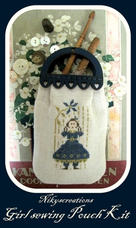 Nikyscreations - Girl Sewing Pouch Limited Edition Kit