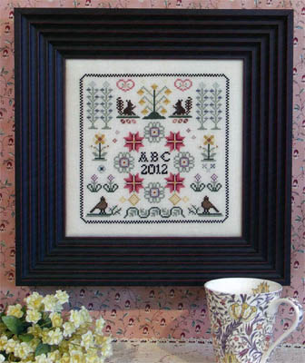 Rosewood Manor - Nostalgia 1 - Cross Stitch Chart