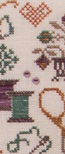 Jeannette Douglas Designs - Pins and Needles - Cross Stitch Pattern