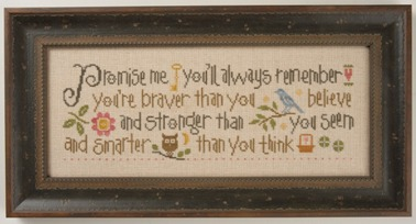Lizzie Kate - Promise Me - Cross Stitch Pattern