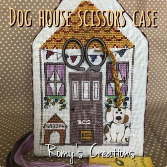 Romy's Creations - Dog House Scissors Case - Nashville Exclusive-Romys Creations - Dog House Scissors Case - Nashville Exclusive, scissors holder, sewing organizer, cross stitch