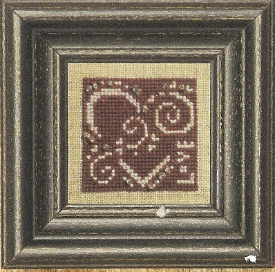 Bent Creek - Red + White - Cross Stitch Pattern