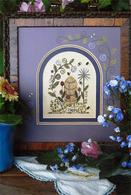 Shepherd's Bush - Be Attitude Sampler - Cross Stitch Pattern