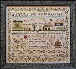 Shakespeare's Peddler - Mercy Goodehart's Sampler - Cross Stitch Pattern