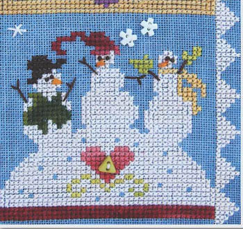 SamSarah Design Studio - Daily Life - Pearl 08 of 12 - Play with Friends! - Cross Stitch Pattern