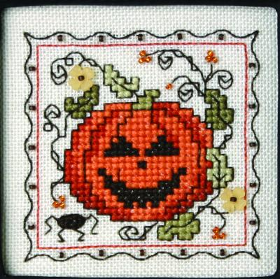 The Sweetheart Tree - Teenie Tweenie - Itty Bitty Kitty - Teenie Tiny Halloween III - Cross Stitch Pattern-The Sweetheart Tree, Teenie Tweenie, Itty Bitty Kitty, Teenie Tiny Halloween III, Halloween, pumpkin, flowers, fall, spider, Cross Stitch Pattern