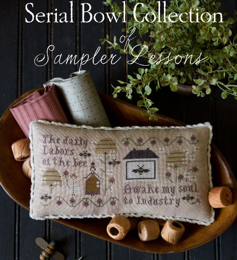 Plum Street Samplers - Serial Bowl Collection of Sampler Lessons - Lesson 3
