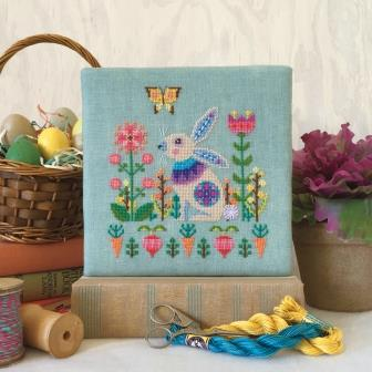 Satsuma Street - Sweet Spring-Satsuma Street - Sweet Spring, Easter, bunny, flowers, Spring, cross stitch