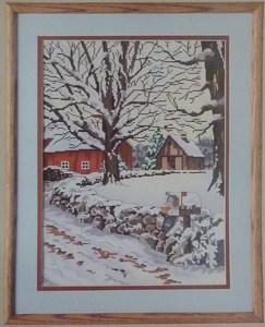 Candamar Designs - Winter Scene - Cross Stitch Kit