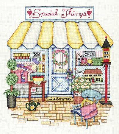 Bobbie G. Designs - Special Things - Cross Stitch Pattern