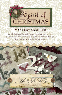 Lizzie Kate - Spirit of Christmas Mystery Sampler - Part 2-Lizzie Kate - Spirit of Christmas Mystery Sampler Part 2, Christmas, samplers,