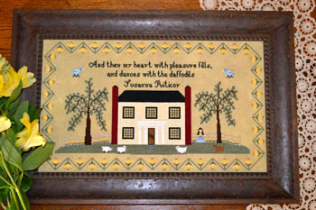 Black Branch Needlework - Susanna Riticor Sampler - Cross Stitch Pattern