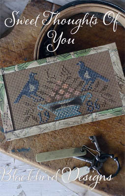 Blackbird Designs - Sweet Thoughts Of You - Cross Stitch Pattern