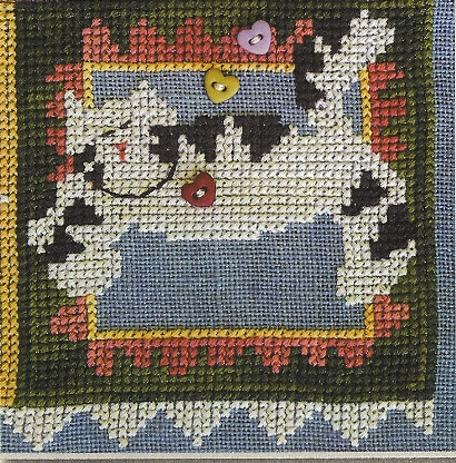 SamSarah Design Studio - Daily Life - Pearl 10 of 12 - Take Naps! - Cross Stitch Pattern