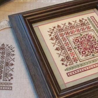 T A Smith Designs - Pretty Little Square - Cross Stitch Pattern
