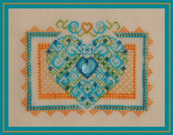 Turquoise Graphics & Designs - Summer Fling - Cross Stitch Pattern