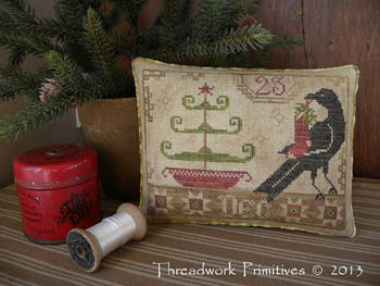 Threadwork Primitives - Beggar's Christmas - Cross Stitch Pattern