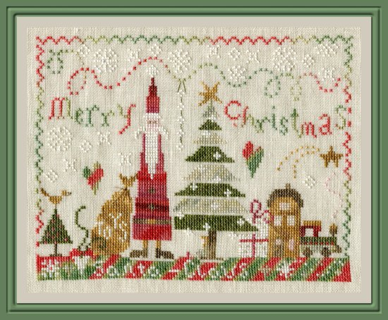 The Pink Needle - Santa