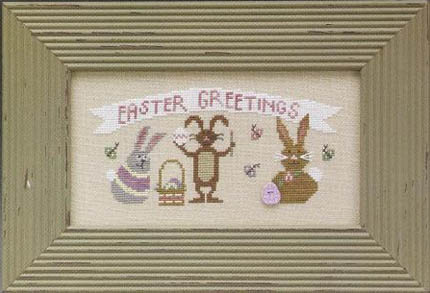 The Trilogy - Easter Greetings - Cross Stitch Kit