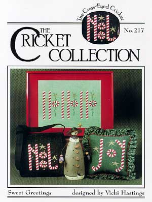 Cross-Eyed Cricket - Sweet Greetings - Cross Stitch Pattern