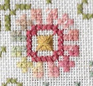 Jeannette Douglas Designs - The Spring Bird - Cross Stitch Pattern
