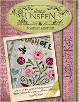 Lizzie Kate - Things Unseen Mystery Sampler - Part 1 - Cross Stitch Pattern-Lizzie Kate, Things Unseen Mystery Sampler, Helen Keller, reading, sight. Cross Stitch Pattern