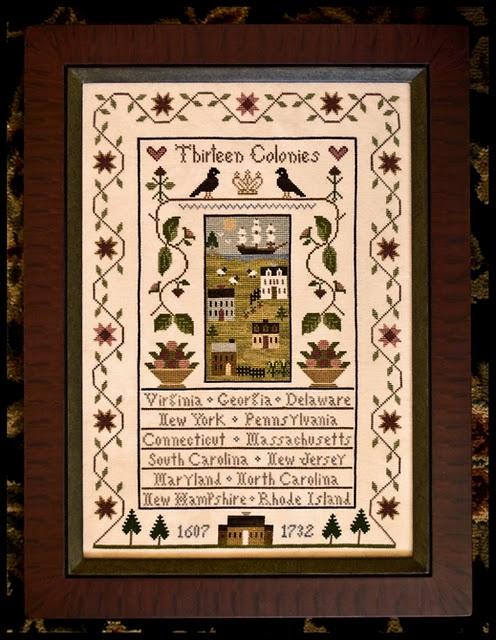 Little House Needleworks - Thirteen Colonies