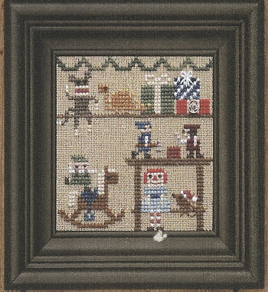 Bent Creek - The Christmas House - Part 3 of 3 The Toy Room - Cross Stitch Pattern
