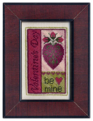 Erica Michaels Needleart Designs - Valentine's Day Bits - Cross Stitch Pattern