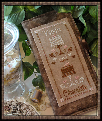 Little House Needleworks -Vanilla and Chocolate - Cross Stitch Pattern