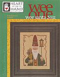 Heart in Hand Needleart - Wee Santa 2011 - Cross Stitch Pattern