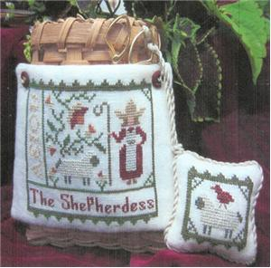 Widgets & Wool Primitives - The Shepherdess