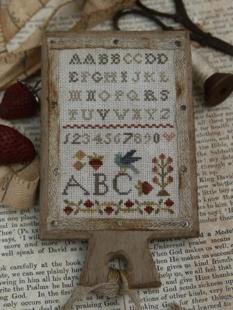 With Thy Needle & Thread - Summer Schoolhouse Lessons in Abecedarian - Miss Polly's Hornbook Kit