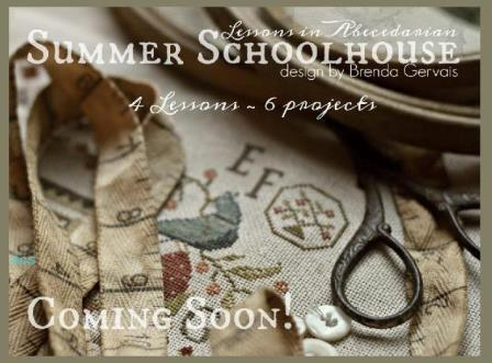 With Thy Needle & Thread - Summer Schoolhouse  Lessons in Abecedarian Part 1