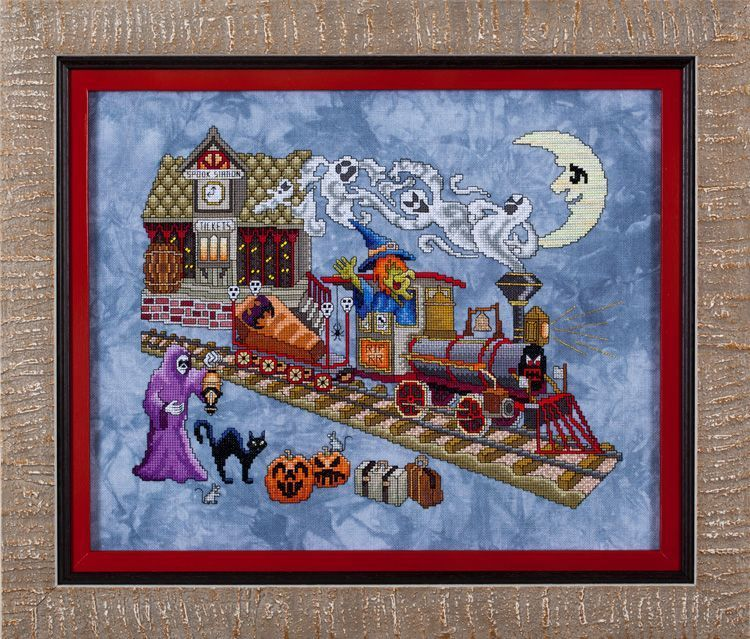 Glendon Place - Eerie Express - Cross Stitch Pattern