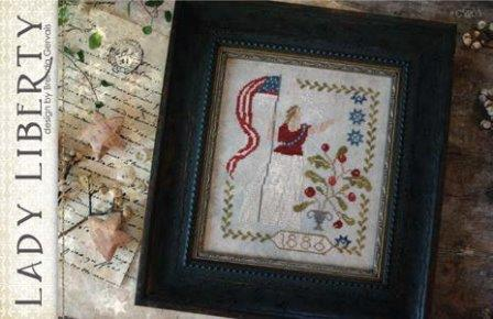 With Thy Needle & Thread - Lady Liberty-With Thy Needle  Thread - Lady Liberty - America, USA, Statue of Liberty, Cross Stitch,
