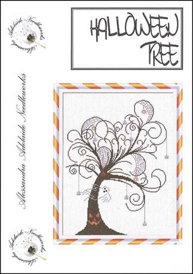 Alessandra Adelaide Needleworks - Halloween Tree - Cross Stitch Pattern