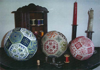Amaryllis Artworks - The Quaker Ball - Cross Stitch Patterns