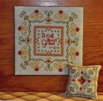 Summer House Stitche Workes - Amazing Grace - Cross Stitch Pattern