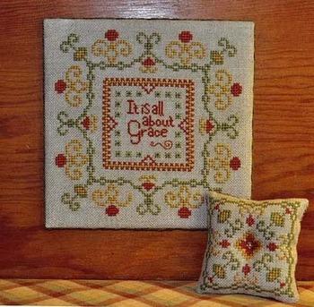 Summer House Stitche Workes - Amazing Grace - Cross Stitch Pattern