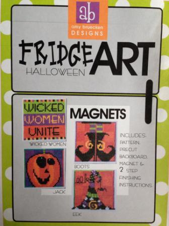 Amy Bruecken Designs - FridgeART - Cross Stitch Patterns