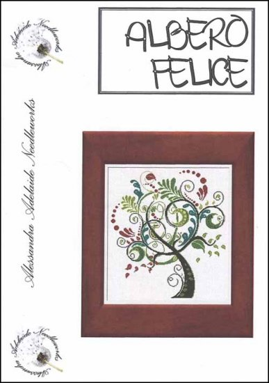 Alessandra Adelaide Needleworks - Albero Felice - Cross Stitch Chart