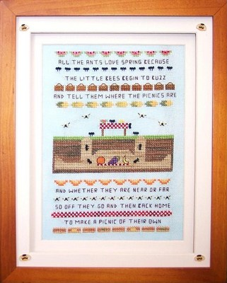Flowers 2 Flowers - The Ants Picnic - Cross Stitch Chart