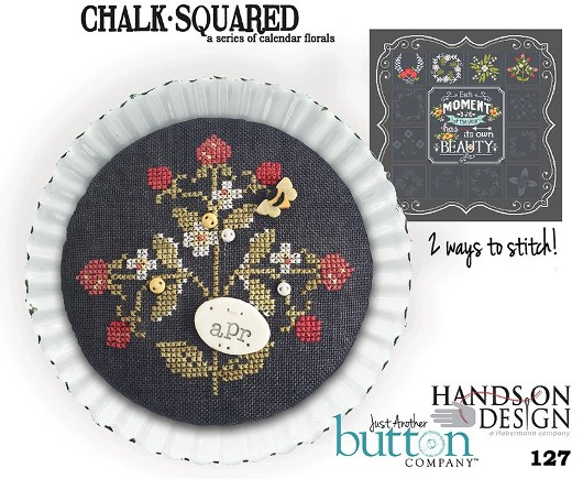 Hands On Design & Just Another Button Co - Chalk Squared #04 April