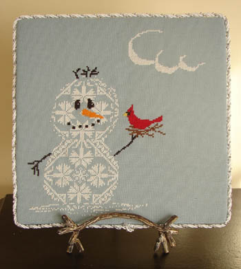 AuryTM - Snow Row Series - Too Sweet - Cross Stitch Pattern